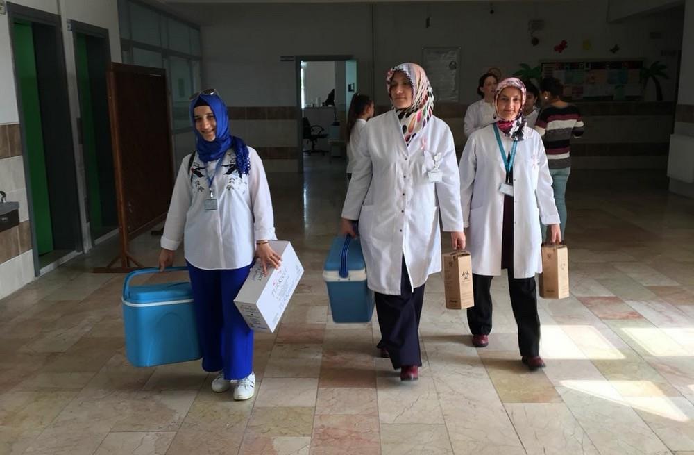Atakum İSM Okul Aşıları