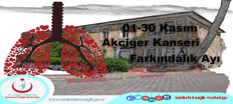 01-30 Kasım Akciger Kanseri Farkındalık Ayı...