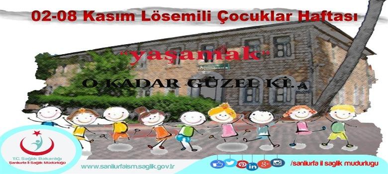 02-08 Kasım Lösemili Çocuklar Haftası