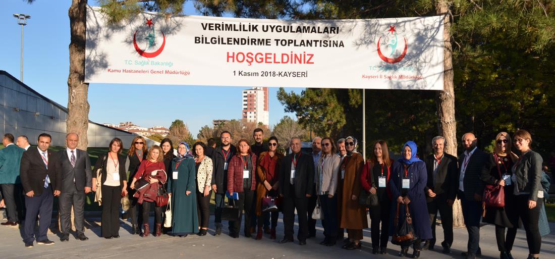 Kayseri Verimlilik Uygulamaları Bilgilendirme Toplantısı Gerçekleştirildi