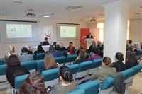 Uludağ Üniversitesi Tıp Fakültesi Medikal Onkoloji Bilim Dalı Öğretim Üyesi Prof. Dr. Türkkan EVRENSEL 'in meme kanseri konulu sunum gerçekleştirdi.
