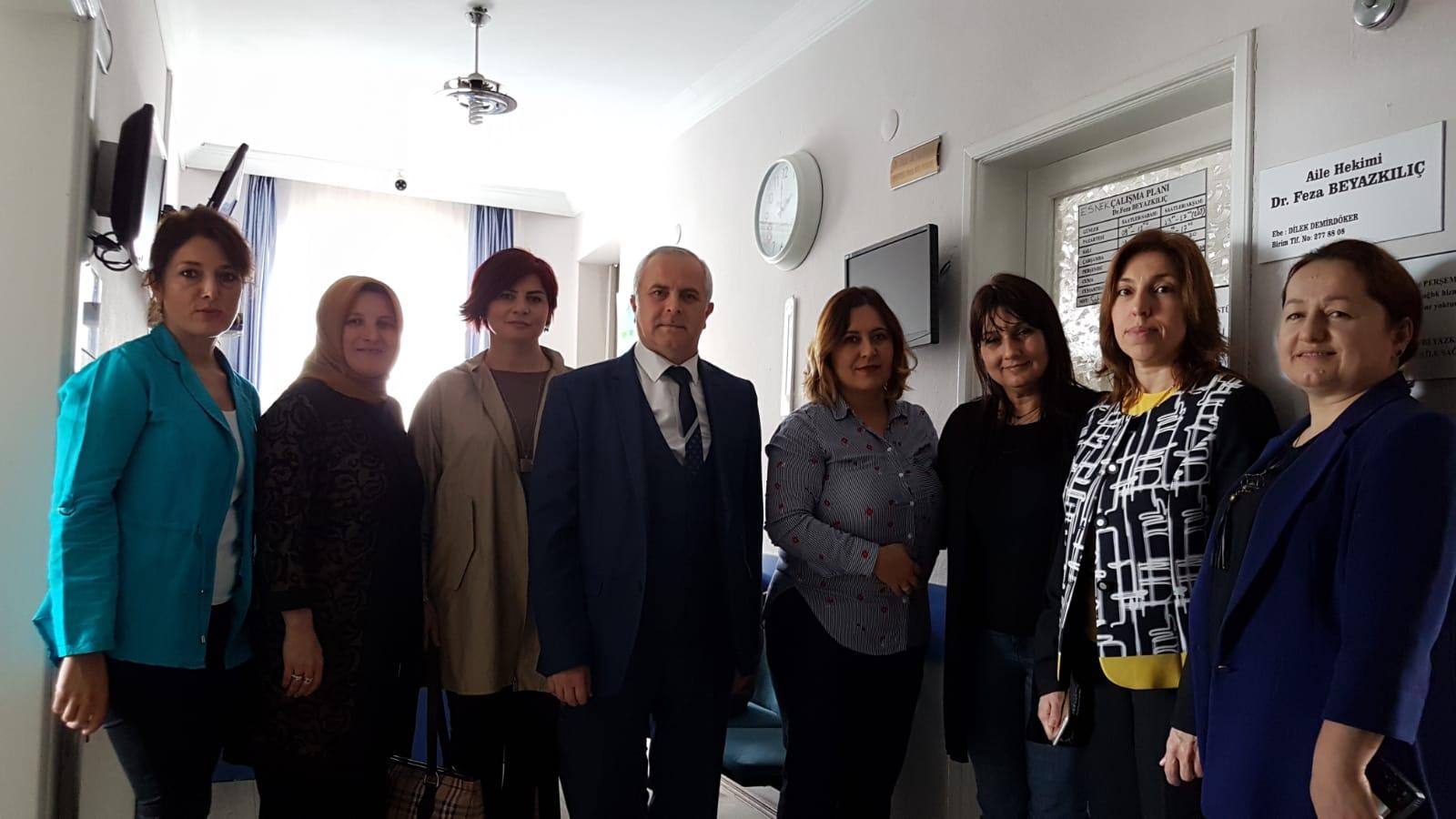 Halk Sağlığı Hizmetleri Başkanımız Dr.Selami Arslan Bir Dilek Tut Samsun; Kanser Tarih Olsun projesine desteklerinden Dolayı Aile Hekimlerimize Teşekkür Belgesi Takdim Etti