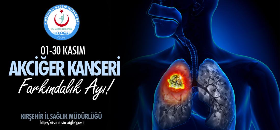 01-30 Kasım Akciğer Kanseri Farkındalık Ayı