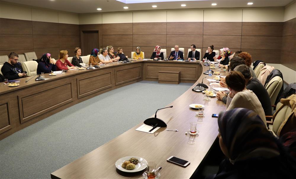 Eğitim Hizmetleri Değerlendirme Toplantısı Yapıldı
