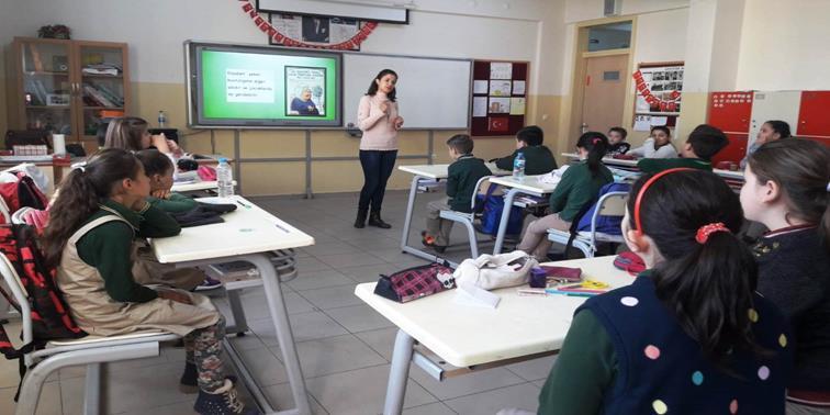 Fatih Sultan Mehmet İlkokulu Öğrencilerine Yönelik Diyabet (Şeker Hastalığı) Konusunda Bilgilendirme Çalışması Gerçekleştirildi.