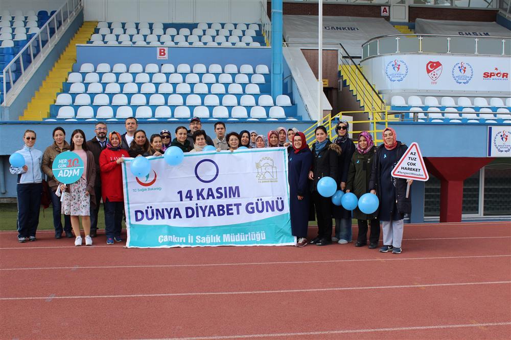 14 Kasım Dünya Diyabet Günü Yürüyüşü Etkinlikleri..!