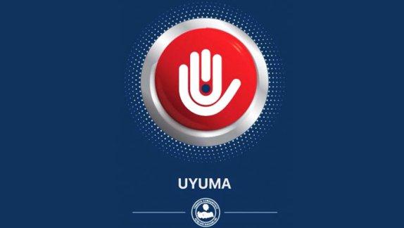 """İçişleri Bakanlığı """"UYUMA"""" Uyuşturucu ile Mücadele Mobil Uygulaması"""
