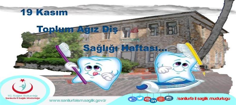 19 Kasım Toplum Ağız diş Sağlığı Haftası