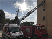Büyükorhan ve Harmancık Yangın Söndürme Tatbikatı