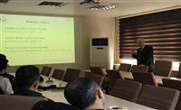 Uz.Dr.Mustafa DEMİRÖZ'ün Lejyoner hastalığı hakkında bilgilendirme konuşması.