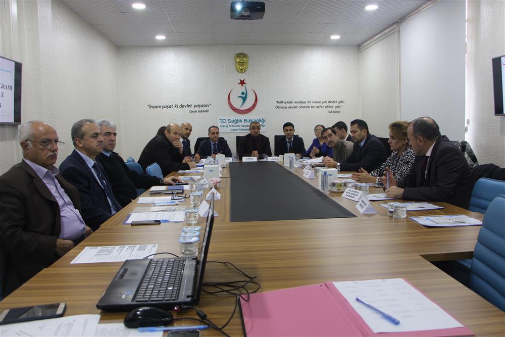 Sağlık Müdürlüğümüz Tarafından Kontrol Programı İl Kurulu Toplantısı Düzenlendi