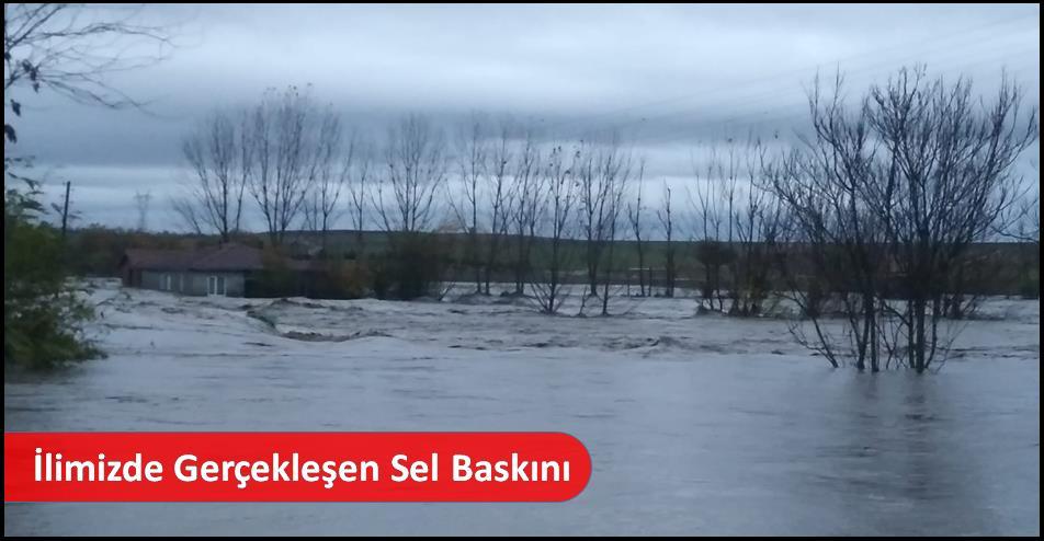 İlimizde Gerçekleşen Sel Baskını