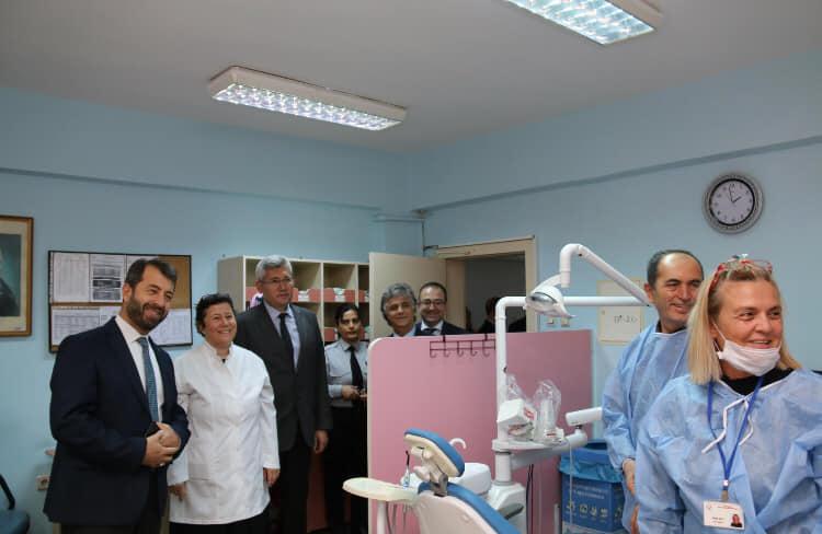 Ankara Topraklık Ağız ve Diş Sağlığı Merkezi'ni ziyaret