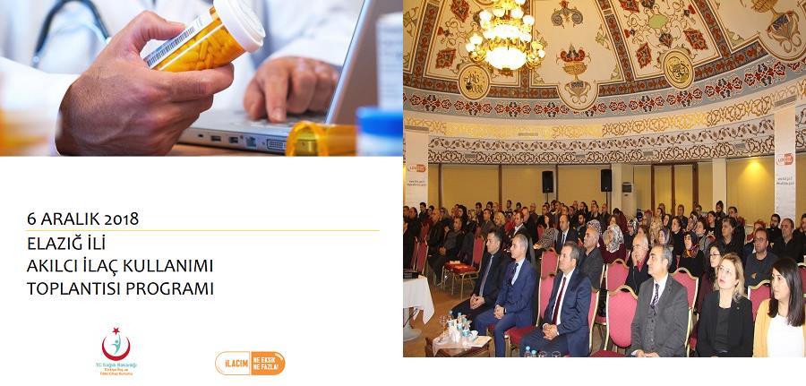 Elazığ' Da  Akılcı İlaç Kullanımı Toplantısı Yapıldı