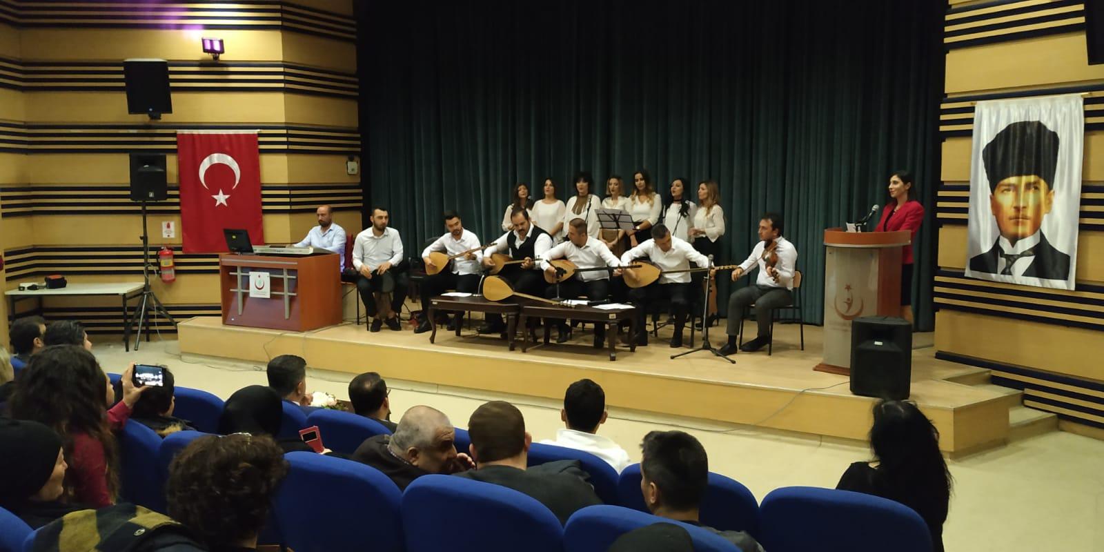 112  Gönüllülerinden Müzik Ziyafeti