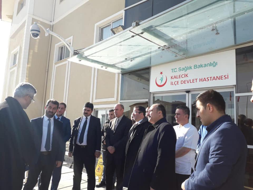 Halil Şıvgın Çubuk Devlet Hastanesi ve Kalecik İlçe Devlet Hastanesine ziyaret