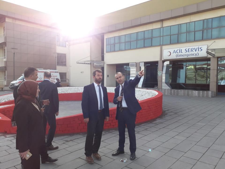 Nallıhan Devlet Hastanesi ve Beypazarı Devlet Hastanesine ziyaret