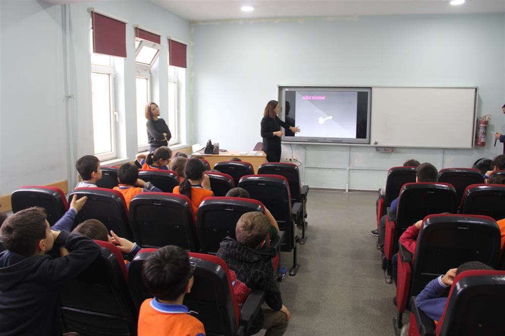 Minik Öğrencilere Kişisel Hijyen Eğitimi