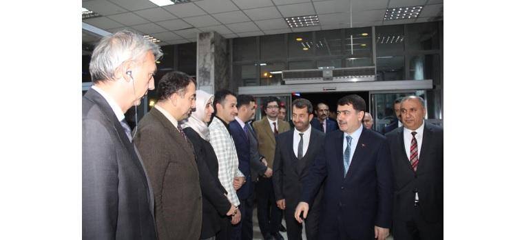Ankara Valisi Sayın Vasip Şahin, İl Sağlık Müdürlüğümüzü Ziyaret Etti