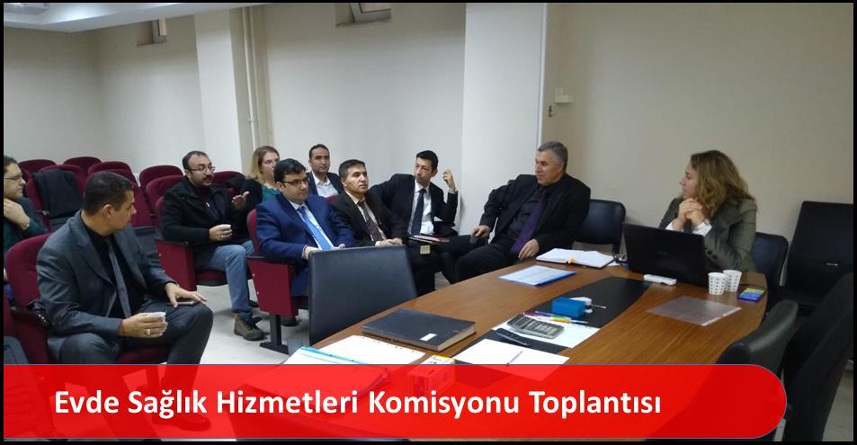 Evde Sağlık Hizmetleri Komisyonu Toplantısı