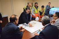 Bursa Valisi Sn. Yakup Canbolat Ali Osman Sönmez Devlet Hastanesi İnşaatında İncelemelerde Bulundu