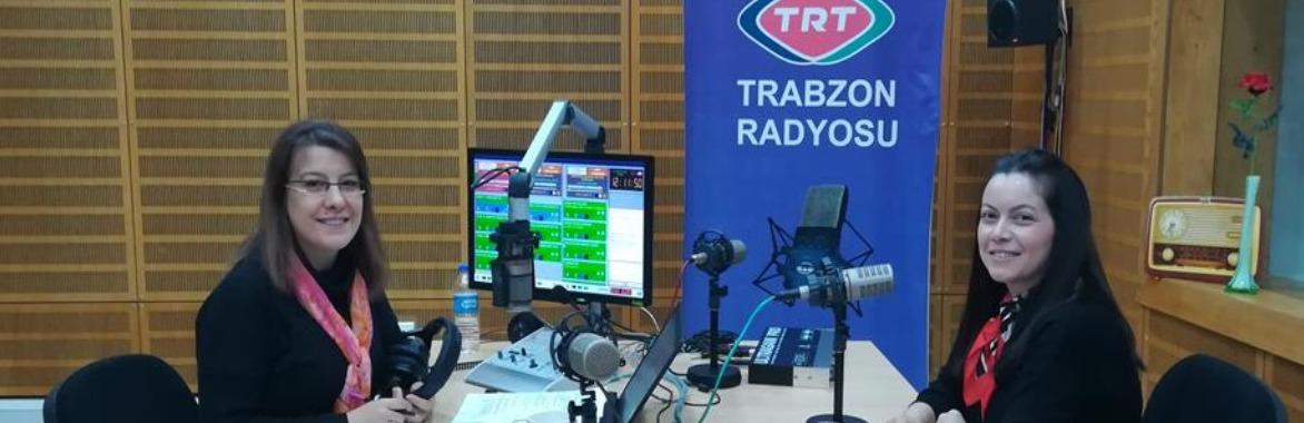 TRT Trabzon Radyosu'na Dr.Sevinç DİL BAKİ konuk oldu