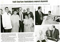 15.02.2013 5OCAK (Vali Coş'tan Hastalara Moral Ziyareti)