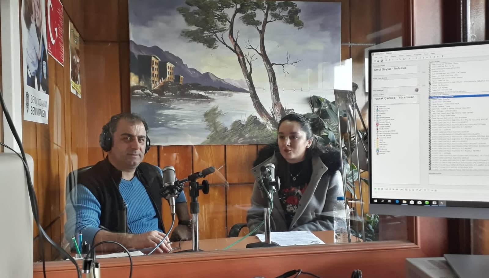 Polis Radyosunda Verem Konuşuldu