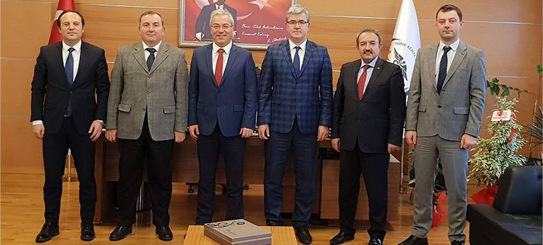 Namık Kemal Üniversitesi Sağlık Uygulama ve Araştırma Merkezi Başhekimliğini Ziyaret