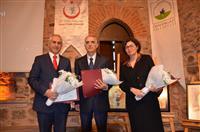 Verem paneli konuşmacılarıProf. Dr. Mehmet KARADAĞ, Prof. Dr. Mustafa HACIMUSTAFAOĞLU, Doç. Dr. Aslı GÖREK DİLEKTAŞLI