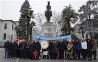 07.01 2019 tarihi saat 10.00'da Heykel Atatürk Anıtına çelenk koyma töreni ve saygı duruşu ile başladı.