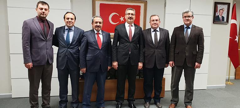 Namık Kemal Üniversitesi Rektörlüğünü Makamında Ziyaret Ettik.