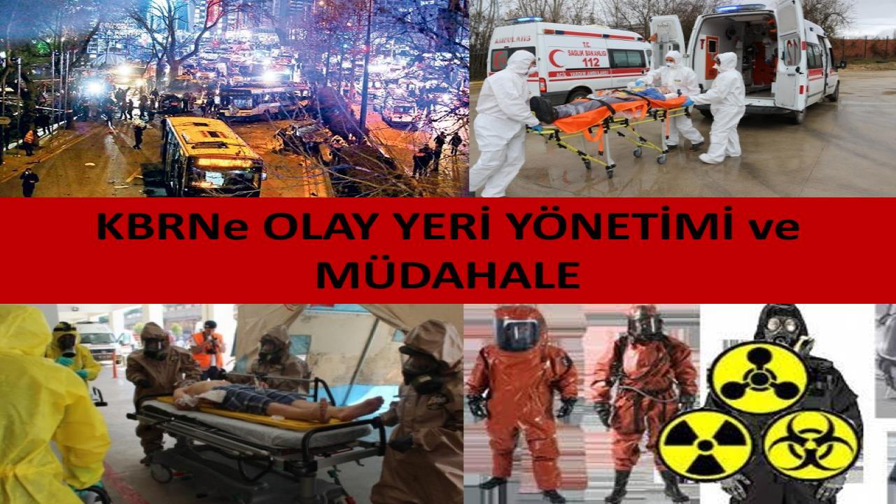 """Ankara 112 Eğitim Birimi tarafından """"KBRNe (Kimyasal, Biyolojik, Radyolojik, Nükleer ve Patlamalar), OLAY YERİ YÖNETİMİ ve MÜDAHALE"""" Konulu Eğitimler Başlıyor"""