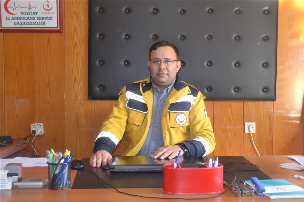 Yozgat İl Ambulans Servisi Başhekimi Görevine Başladı