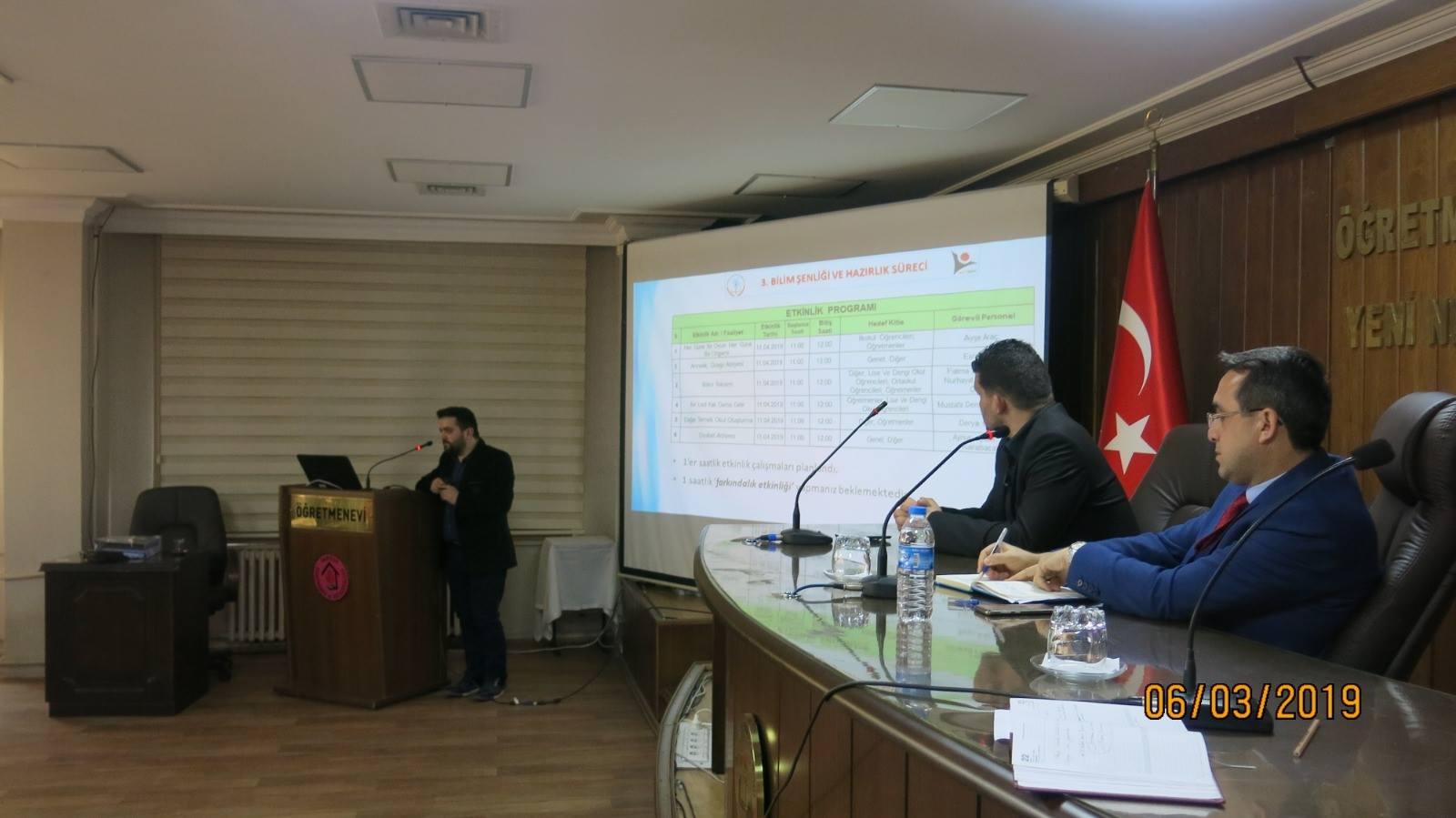 TÜBİTAK 4007 Bilim Şenliği Atölye Liderleri Koordinasyon Toplantısı Gerçekleştirildi