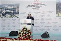Kartal Dr. Lütfi Kırdar Eğitim ve Araştırma Hastanesi'nin Poliklinik ve İdari Binası Acilis Toreni 3.JPG