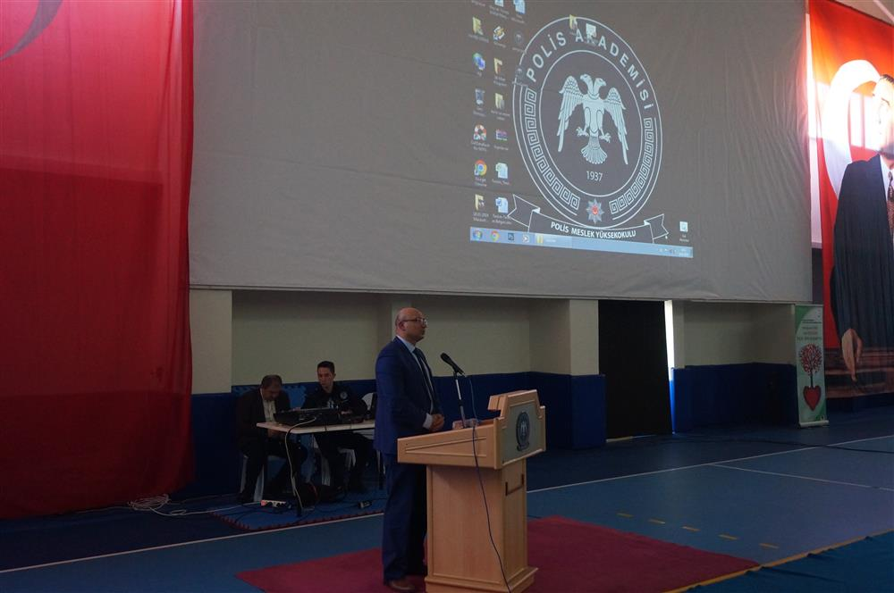 Polis Okulunda Organ Bağışı Konferansı verildi