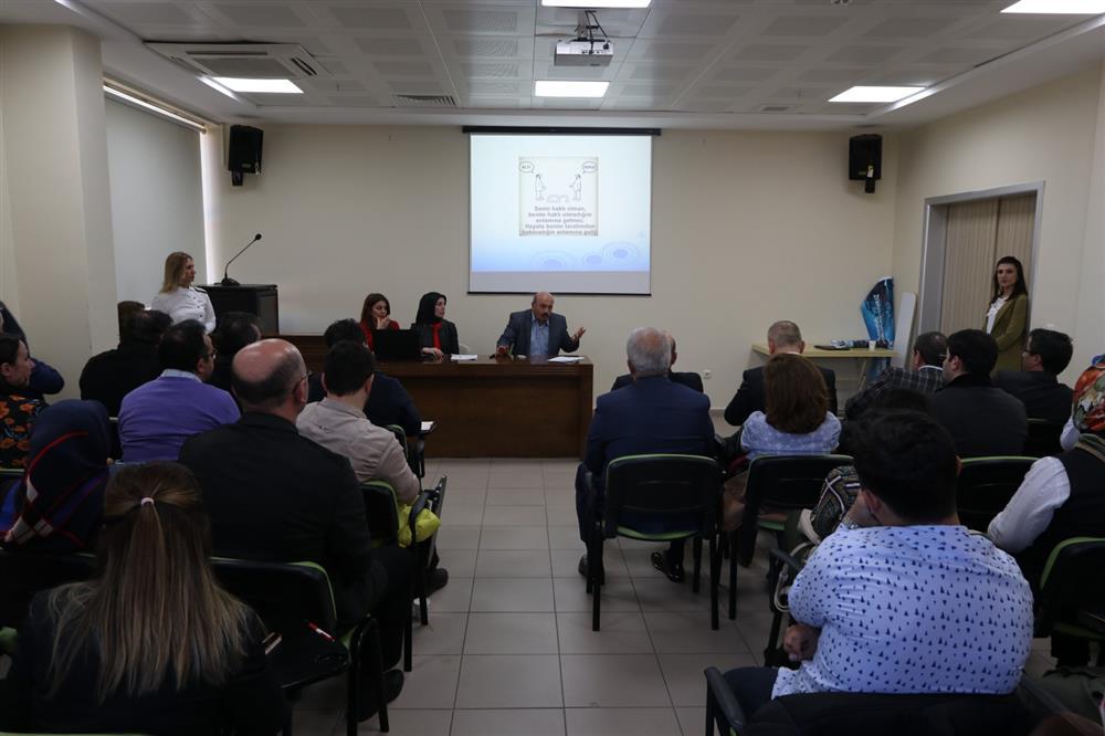 """Hasta Hakları Bildirim Sistemi, SABİM ve CİMER"""" Değerlendirme Toplantısı"""