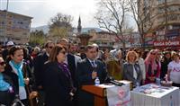 İl Sağlık Müdürü Dr. Özcan AKAN etkinlik ile ilgili basın açıklaması gerçekleştirdi.