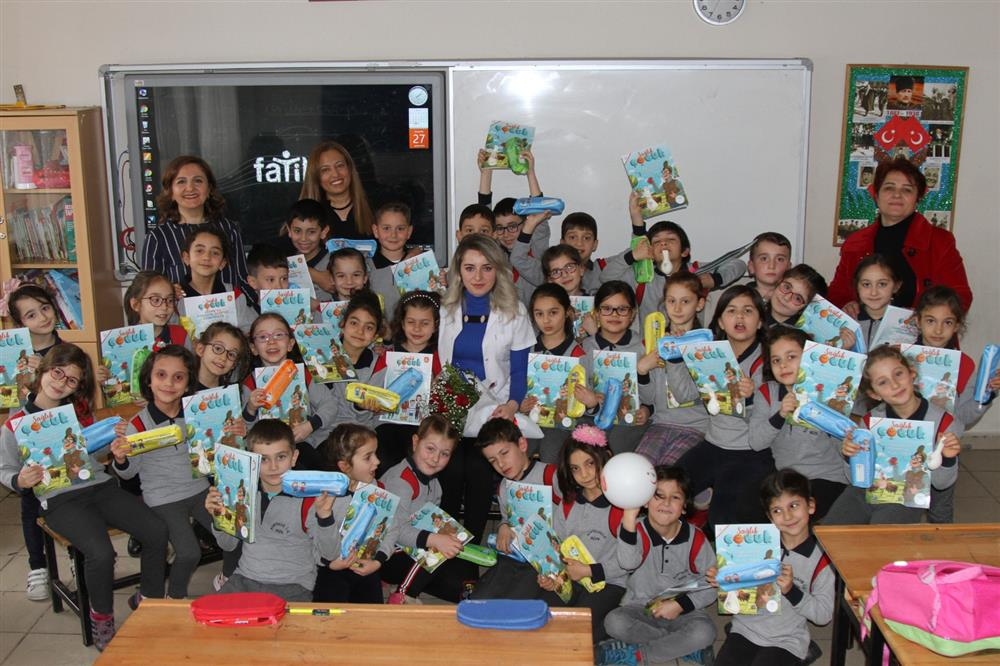 """Rize'de çocuklara """"sağlık çalışanları"""" tanıtılıyor"""