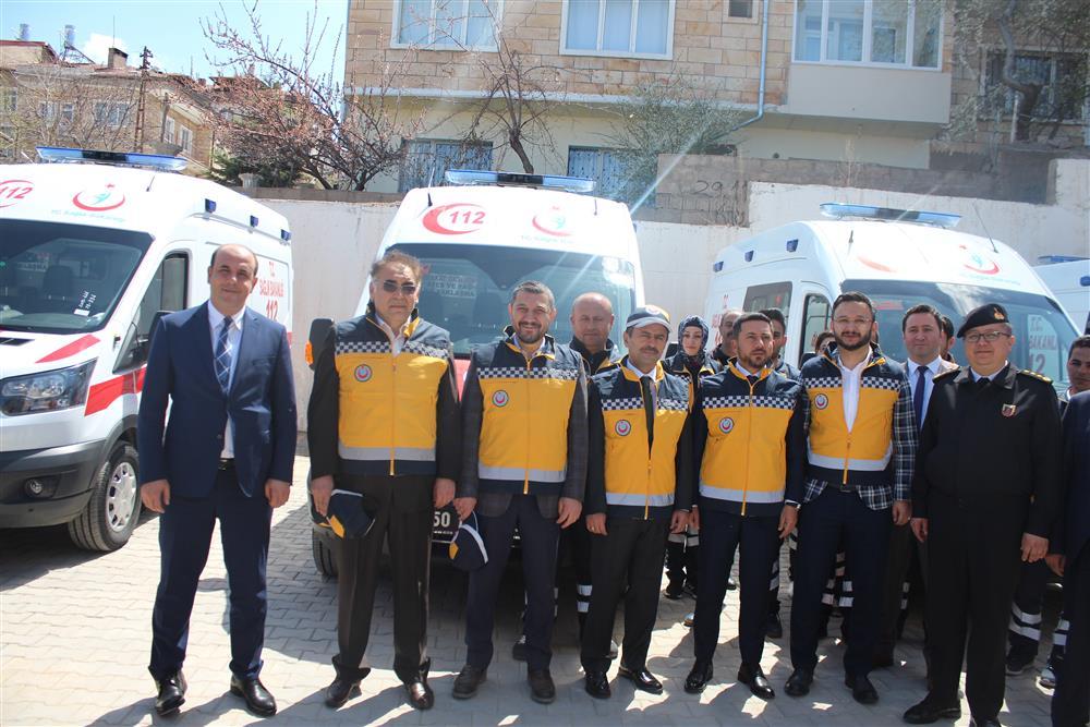 Nevşehir'e 5 Yeni Ambulans
