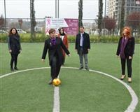 Kansere Sende Bir Gol At Futbol Etkinliği