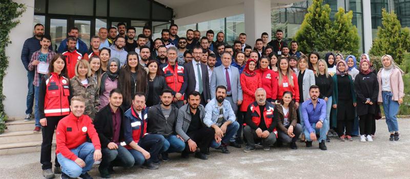9. Bölge, UMKE Temel Modül Eğitimi Kırıkkale'de Tamamlandı