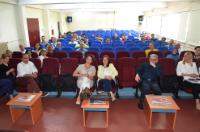 Toplantıya İl Sağlık Müdürlüğü ve Kamu Hastaneler Birliği Genel Sekreterliği'nden yetkililer ile Özel Hastane Yöneticileri ve ASKOM  sorumluları katıldı..jpg