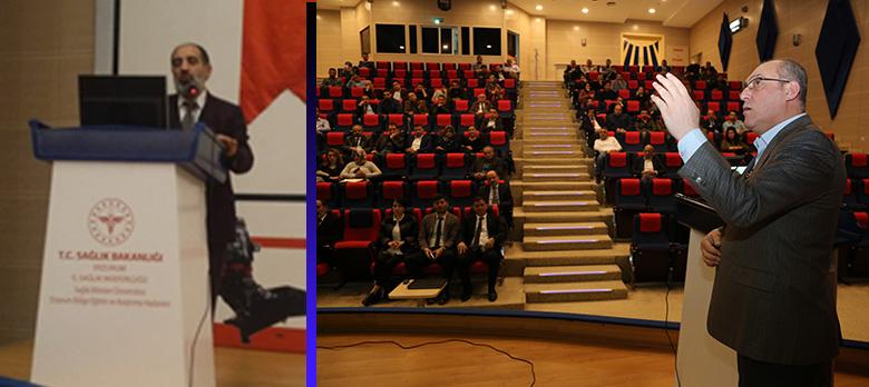 E-Nabız-KDS Eğitimi  Verildi