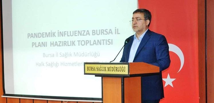 Küresel Grip Salgını İl Hazırlık ve Faaliyet Planı Hazırlama Komitesi Toplantısı