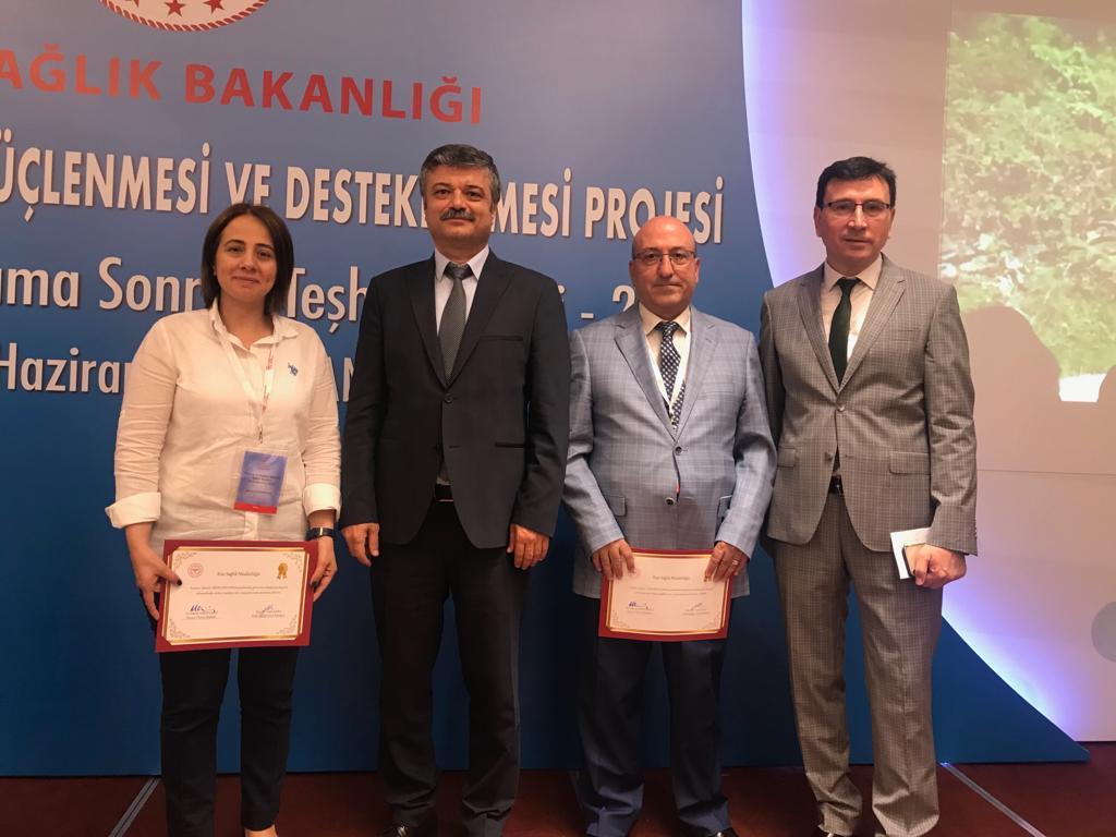 Rize, Kanser Taramalarında Türkiye 2. ve 3'üncüsü Ödüllerini Aldı