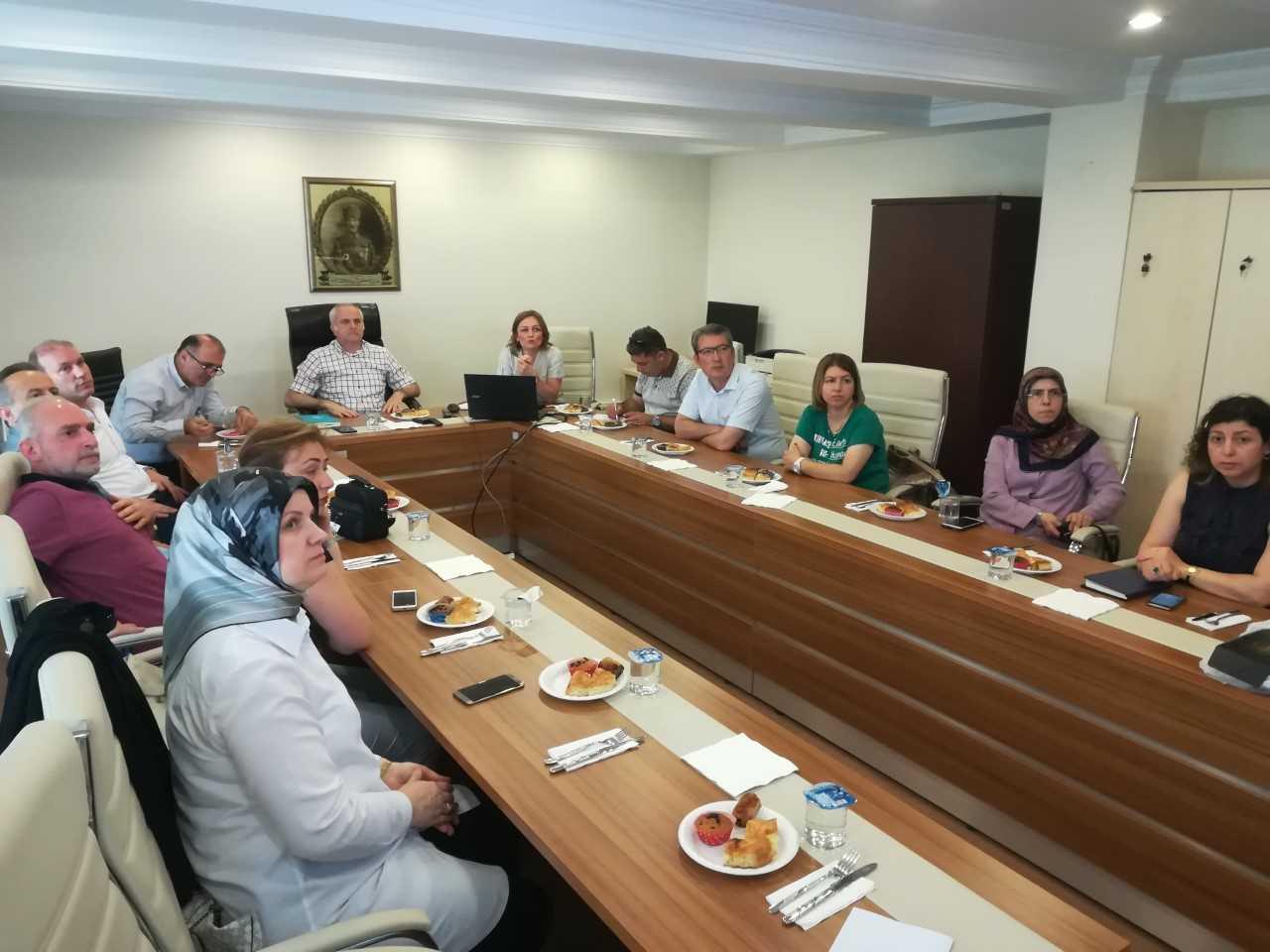 'Dispanserleri Değerlendirme Toplantısı' 27.6.2019'da Sağlık Müdürlüğümüzde Yapıldı