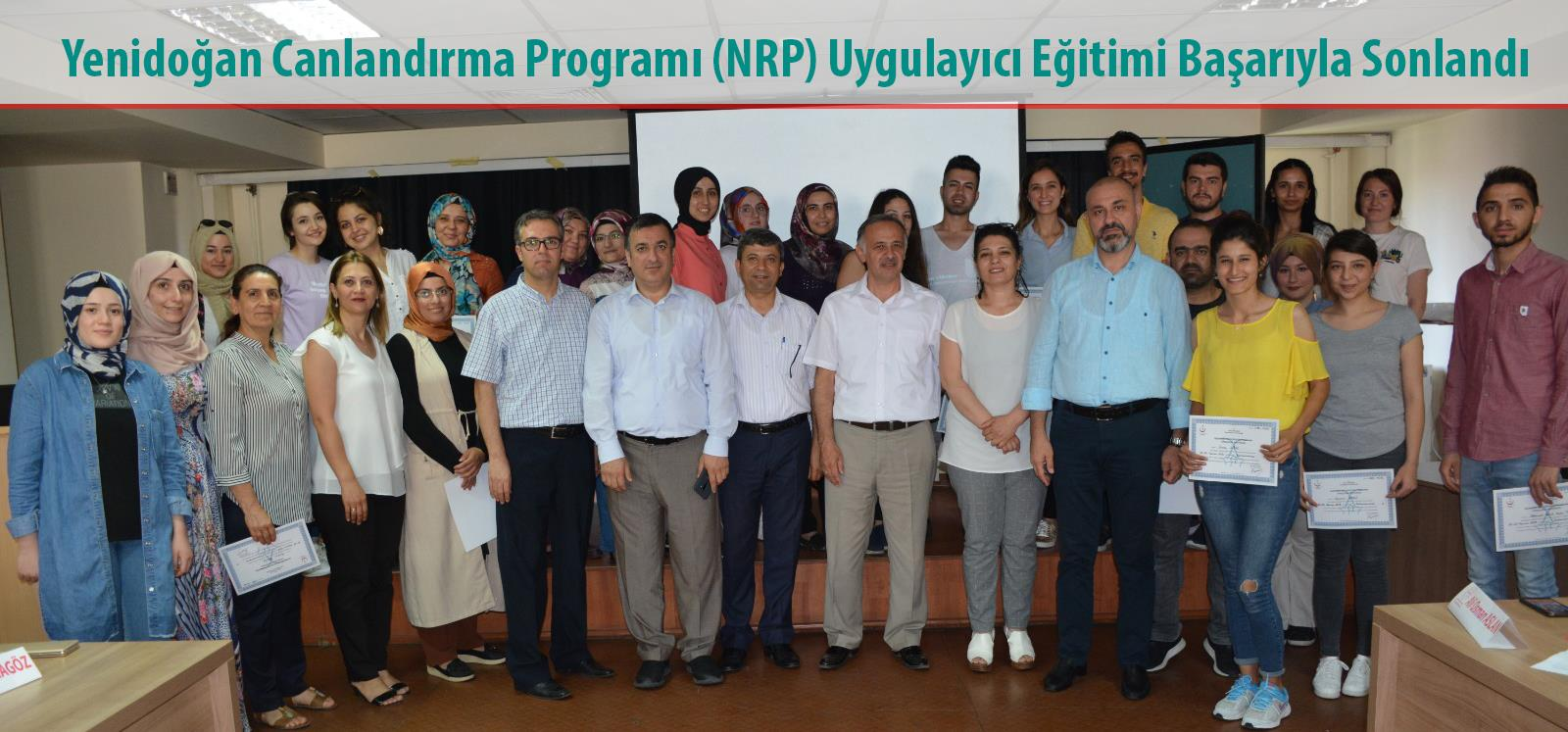 Yenidoğan Canlandırma Programı (NRP) Uygulayıcı Eğitimi Başarıyla Sonlandı