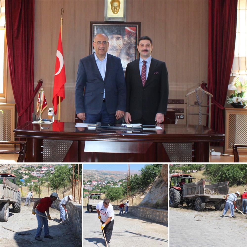Çemişgezek Belediye Başkanı Sayın Metin Levent YILDIZ'a ve Belediye Temizlik İşleri ekiplerine teşekkür ederiz.
